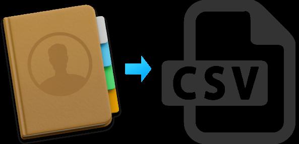 ذخیره مخاطبین آیفون در قالب فایل CSV و XLS