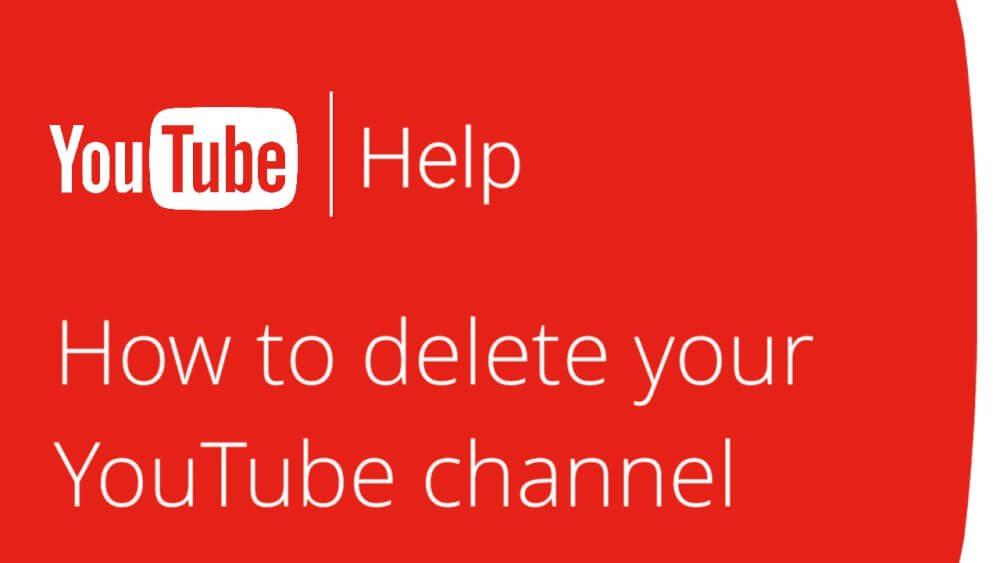 حذف کانال یوتیوب