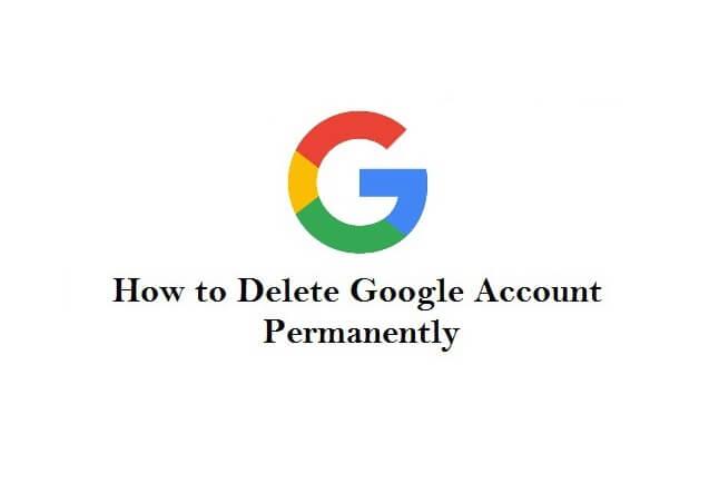 حذف اکانت گوگل