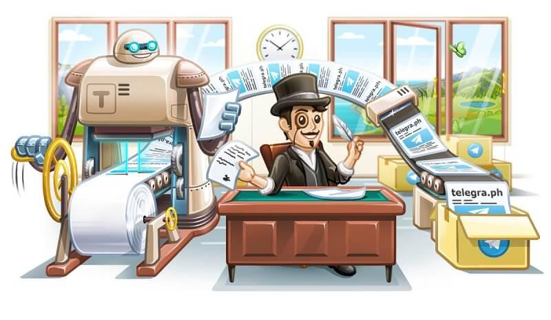 ربات تلگراف و Telegraph API