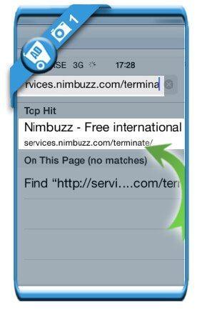حذف اکانت نیمباز (Numbuzz)