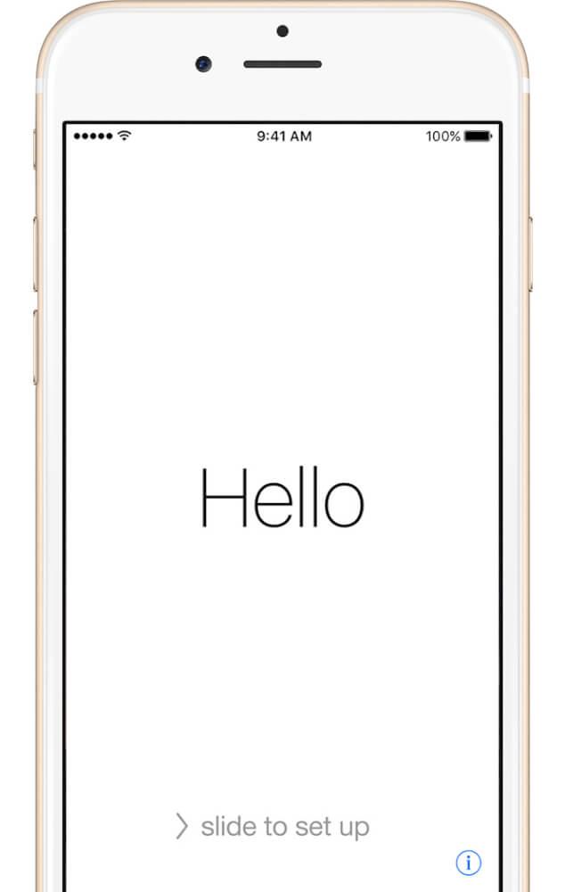 ۹ قدم تا راه اندازی اولیه آیفون، آیپد و آیپادهای اپل