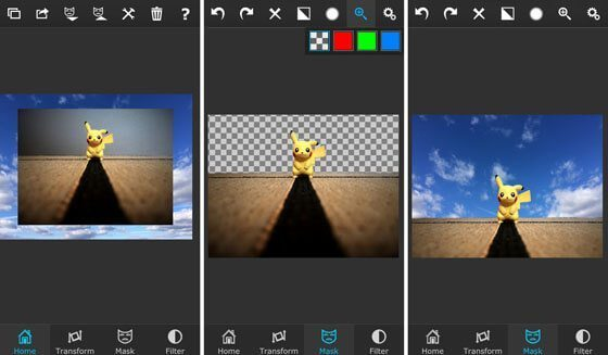 برنامه ویرایش عکس Superimpose