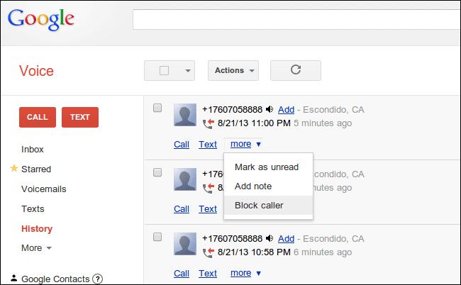 آموزش بلاک کردن شماره های مزاحم در اندروید