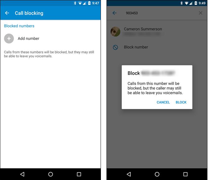آموزش بلاک کردن شماره های مزاحم در اندروید android call block
