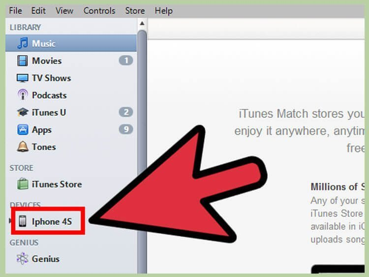 حذف فایلهای موسیقی ذخیره شده در آیفون