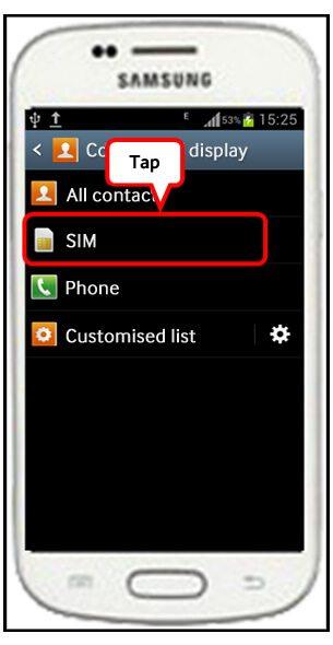 آموزش حذف مخاطبین سیم کارت در سری محصولات گلکسی سامسونگ - موبایل کمک
