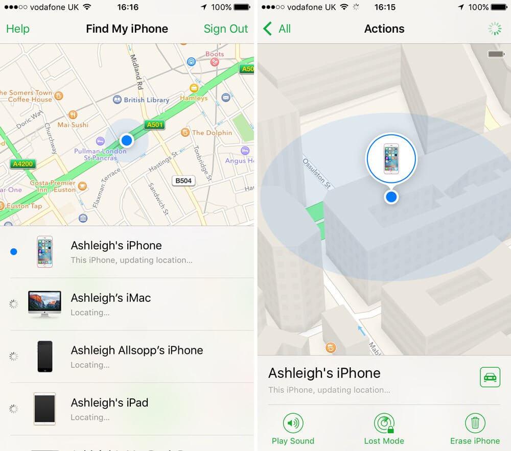 چگونه آیفون گم یا دزدیده شده خود را ردیابی کنیم؟find my iphone