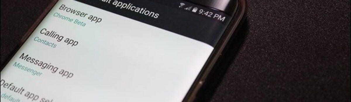 تغییر اپلیکیشن پیش فرض در سیستم عامل اندروید
