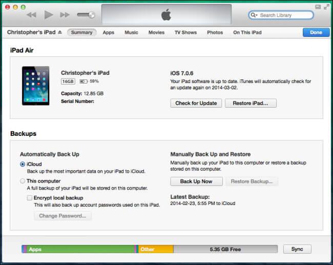 با بکآپگیری از طریق سرویس iCloud و ابزار iTunes