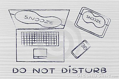 Do Not Disturb و Silent