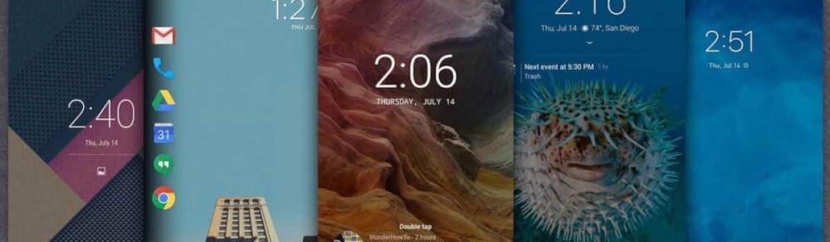 ۵ برنامه جایگزین قفل صفحه نمایش برتر برای سیستم عامل اندروید