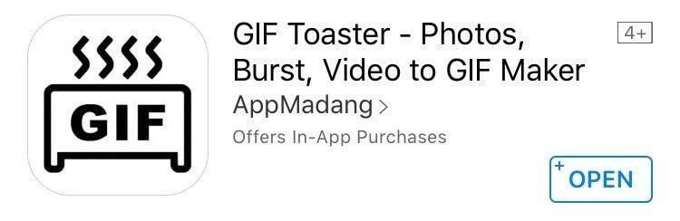 استخراج فایل GIF در آیفون