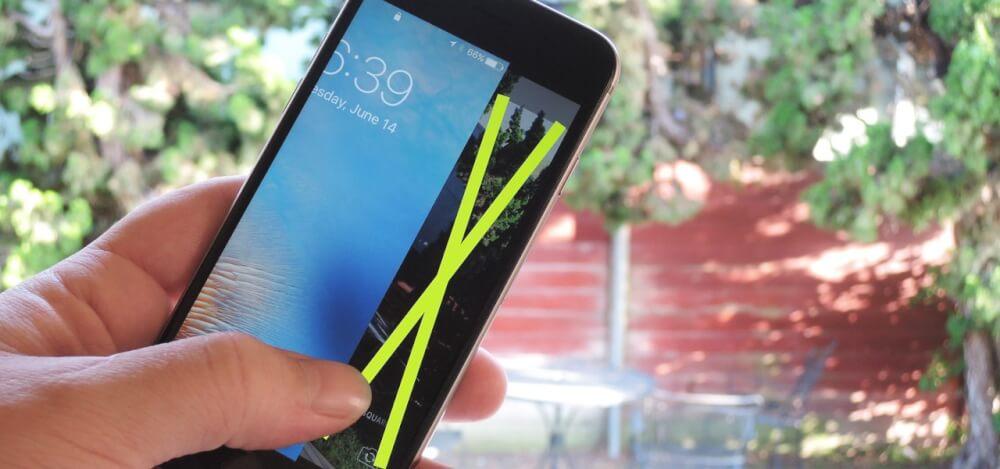 آموزش حذف آیکون میانبر دوربین از صفحه لاک اسکرین آیفون