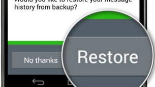 بکآپگیری و ریستور محتوای اپلیکیشن واتسآپ با گوگل درایو