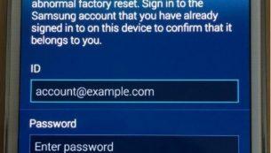 آموزش تصویری حذف اکانت سامسونگ – Delete Samsung Account