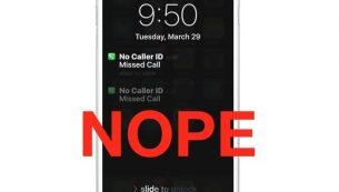 آموزش بلاک تماس ناشناس و بدون Caller ID در آیفون و آیپد