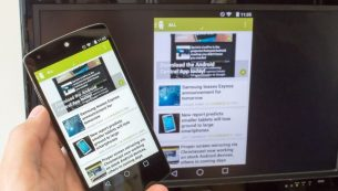 آینه کردن صفحه نمایش گوشی بر روی نمایشگر لپتاپ یا تلویزیون