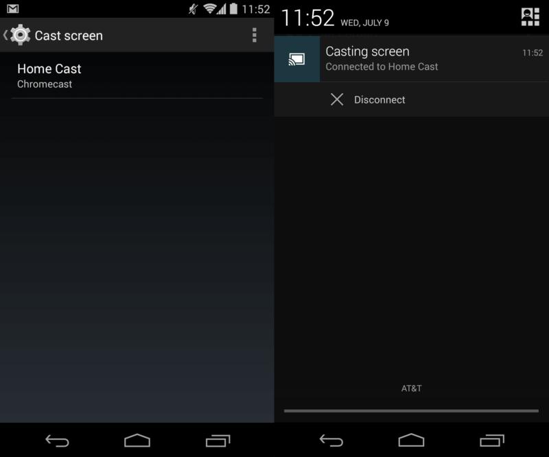 آینه کردن صفحه نمایش دستگاه اندرویدی