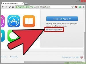 فراموش کردن اپل آیدی