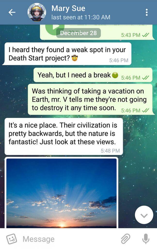 تلگرام 3.16