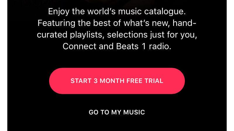 استفاده از برنامه اپل موزیک