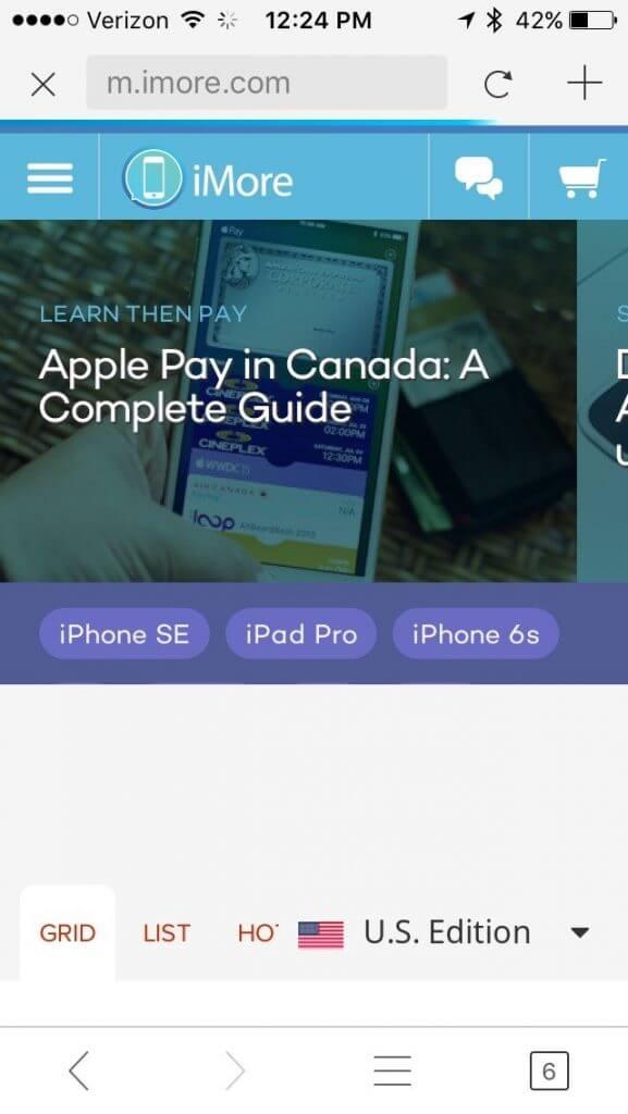 بهترین مرورگرها برای آیفون و آیپد در موبایل کمک