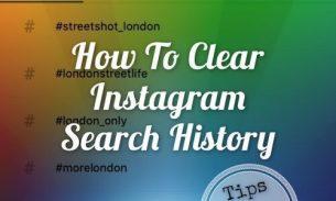 آموزش حذف جستجوهای پیشین اینستاگرام