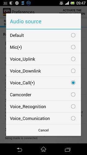 ضبط اتوماتیک مکالمات در اندروید