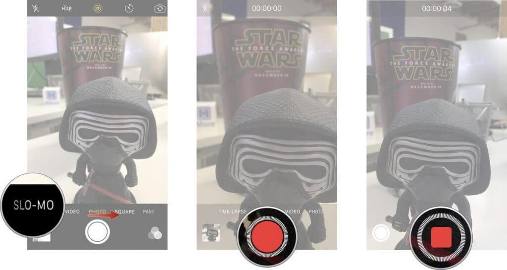 تغییر ویدئو اسلوموشن به معمولی در آیفون iphone slowmotion video