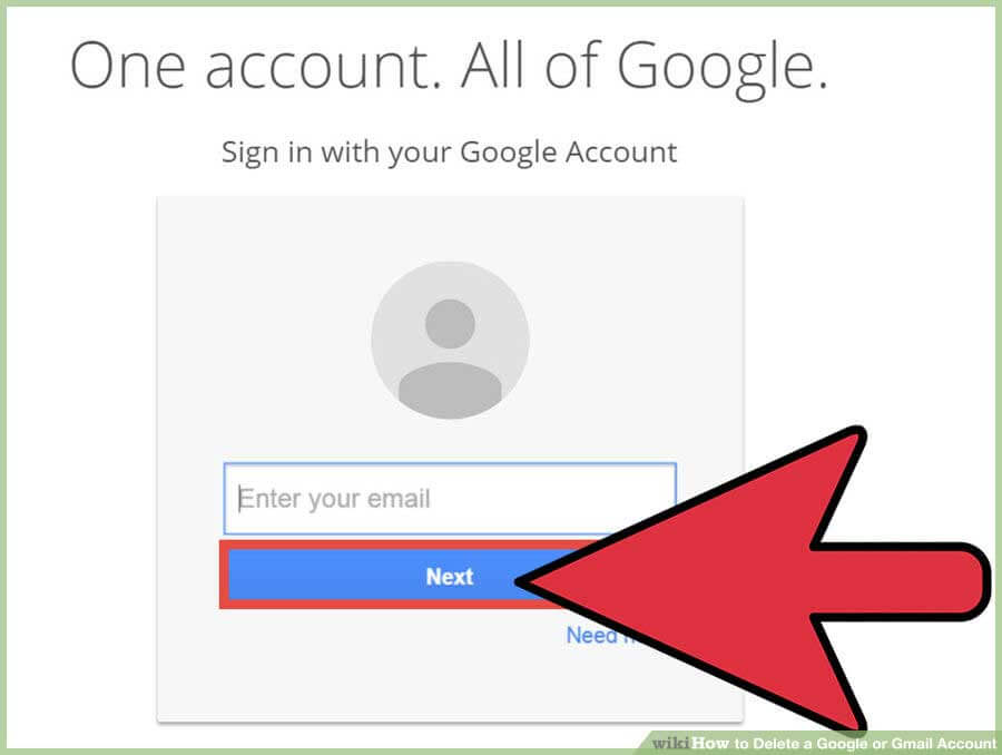 how to delete google drive from my gmail account