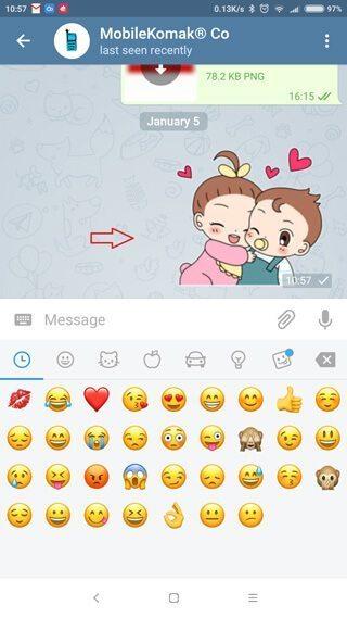 حذف پیام ارسال شده در تلگرام