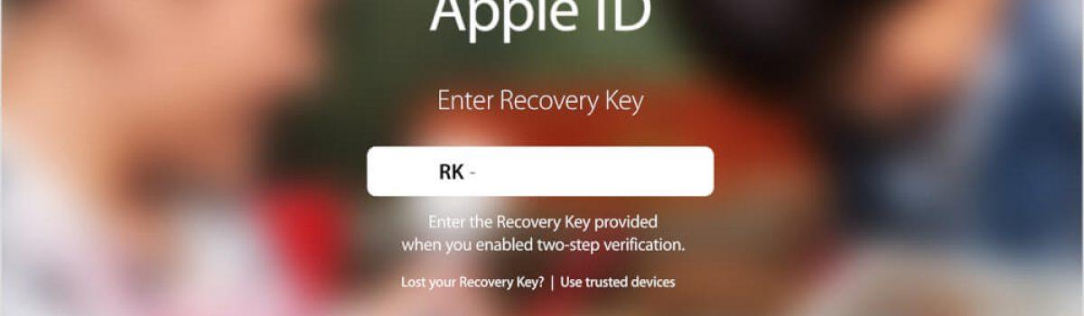 در صورت فراموش کردن اپل آیدی (Apple ID) خود چه کنیم؟