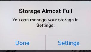 روشهای مقابله با مشکل کمبود فضای ذخیرهسازی در آیفون