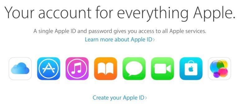 غیر فعال سازی اپل آیدی در آیفون و آیتیونز و مک بوک
