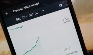 کنترل مصرف اینترنت در اندروید حین استفاده از موبایل دیتا