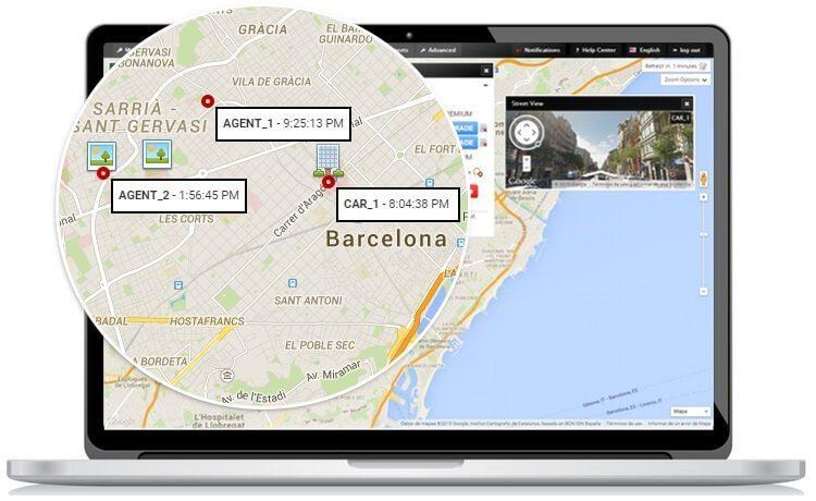 ردیابی موقعیت مکانی خودرو با گوشی