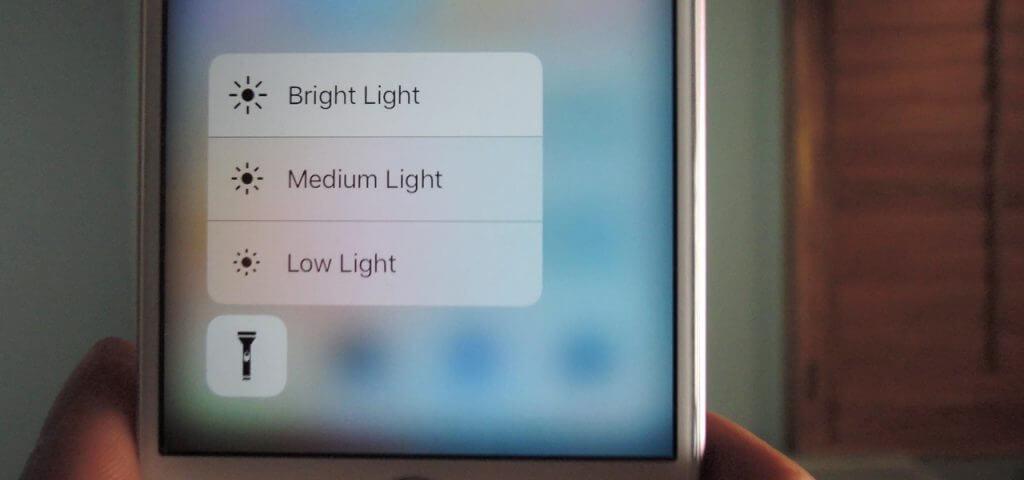 تغییر شدت نور فلش آیفون و آیپد های اپل