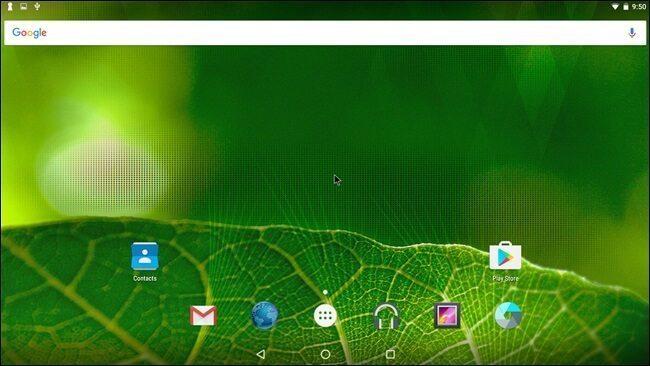 اجرای اندروید روی کامپیوتر با یک فلش مموری