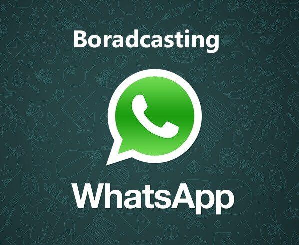 آموزش ارسال یک پیام برای چند مخاطب واتساپ