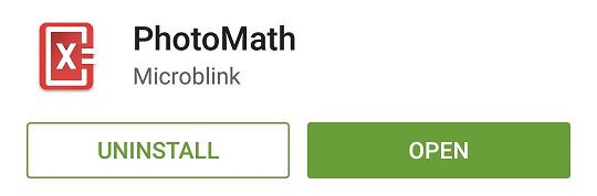 حل مسائل ریاضی با گوشی از طریق برنامه PhotoMath
