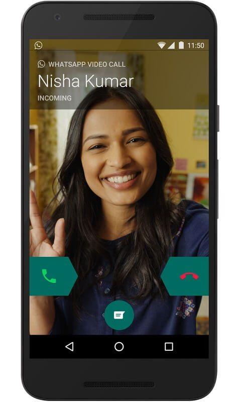 برقراری تماس ویدیویی در واتساپ