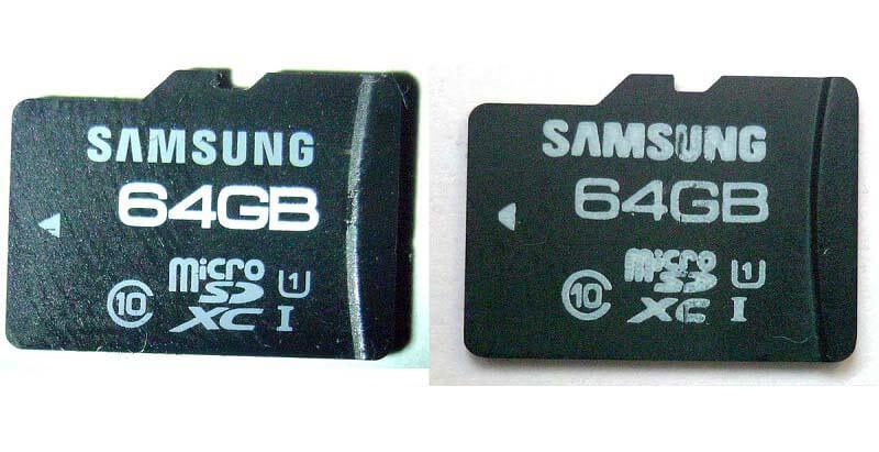 انواع حافظه SD و تفاوت های آنها