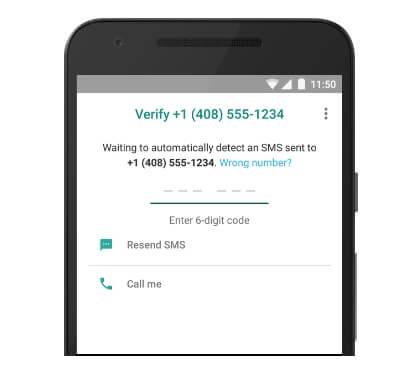 راه اندازی واتساپ و تایید شماره تماس