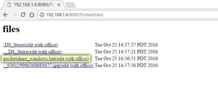 انتقال بیسیم فایل بین گوشی و کامپیوتر با برنامه Pocketshare