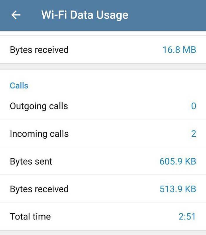 برقراری تماس در تلگرام