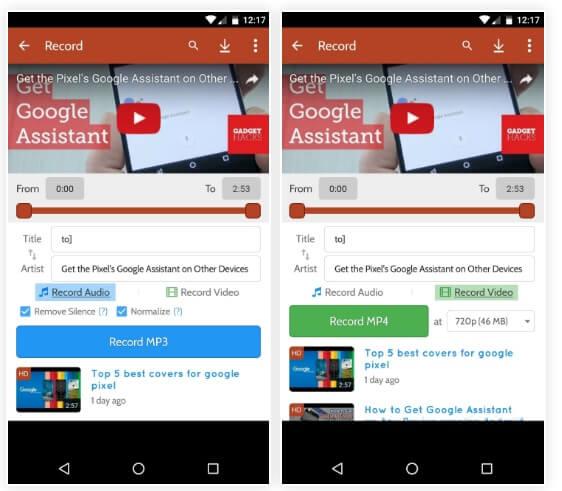 دانلود کلیپ های یوتیوب در قالب فایل صوتی MP3 یا ویدیوی MP4