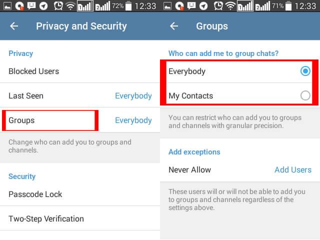 خلاصی از شر تبلیغات در تلگرام