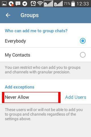 خلاصی از شر تبلیغات تلگرامی