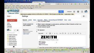 آموزش ساخت امضای جیمیل (Gmail Signature)